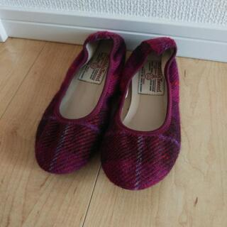 ハリスツイード靴