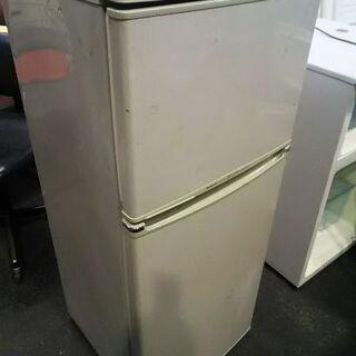 ナショナル・106リットル2ドア冷凍冷蔵庫