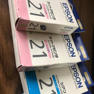 エプソン プリンターインクカートリッジ IC−21シリーズセット