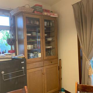 カリモク 食器棚