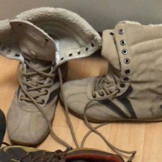 24.0 - 24.5cm スロバキアで買った冬靴