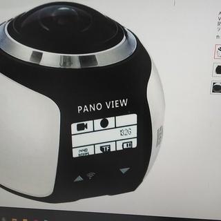ドラレコとして使用できます。 VRビデオカメラ 360度パノラマ