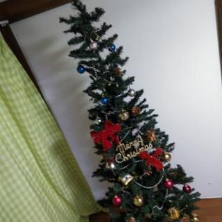180cmクリスマスツリー、オーナメント