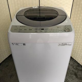 🌈🌈🌈2018年製❣️8kgファミリータイプ洗濯機☝️😍