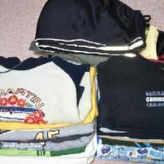 男の子用子供服 (長)サイズ120(ゴム付き)