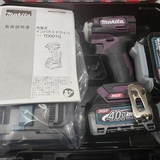 【未使用品】マキタ 充電式 インパクトドライバー TD001GD...