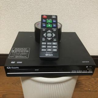 DVD 再生専用! 取説、リモコン、箱あり!!山善!!