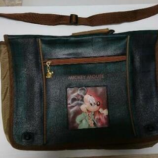 ミッキーの勉強鞄*やや美品