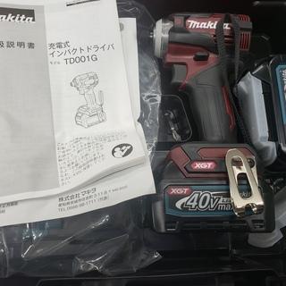 【未使用】マキタ 新型 充電式 インパクトドライバー TD001...