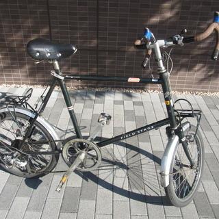ミニロペ20インチギア自転車 荷台付き