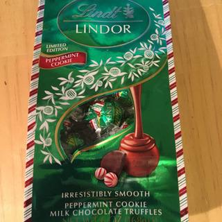 他のチョコと、交換で。リンツチョコレート ミントチョコ ペパーミ...