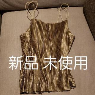 新品未使用◆カーキ色 S M サテン感 キャミ めっちゃ可愛いです