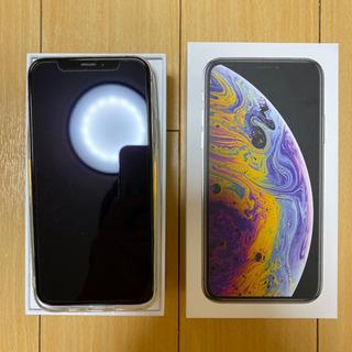 iPhone Xs Silver 256 GB SIMフリー