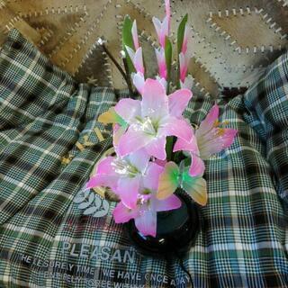 ¥1300   電飾造花 ルミナスLED   サイズ高さは47Cm