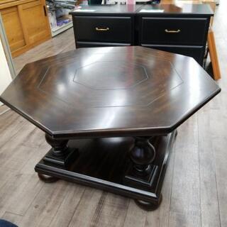 【値下げしました!】ローテーブル 八角形 木製 2990円