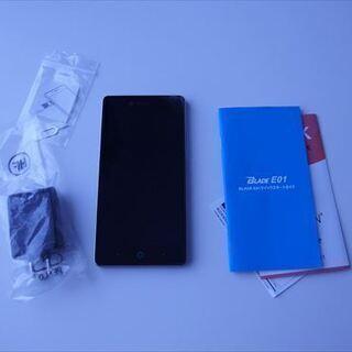 スマートフォン ZTE Blade E-01 black