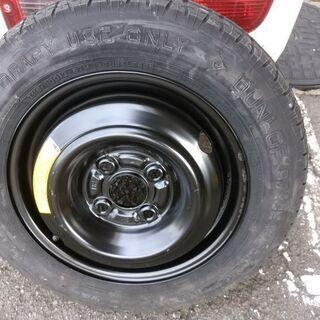 テンパータイヤ 応急用スペアタイヤ T115/90D13 フィッ...