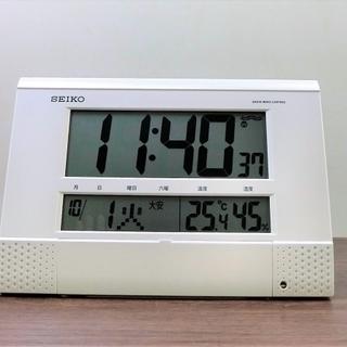 【ハッピー西葛西店】電波掛置兼用時計 【SEIKO】アウトレット...