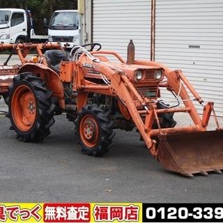 クボタ トラクター L1501DT 15馬力 4WD フロントローダー