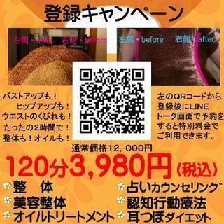【3980円キャンペーン❗】即日、結果にコミット❗整体・美ボディ...