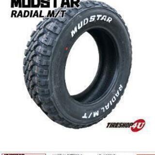 R14 M/Tタイヤ 新古品4本セット(タイヤのみ)