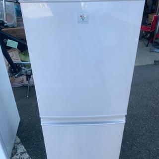 ☆2015年製 シャープ ノンフロン冷蔵庫 ホワイト 傷ありのた...