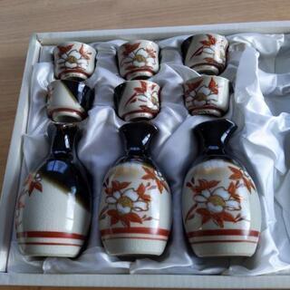 九谷焼 徳利とお銚子セット