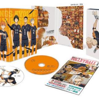 【ハイキュー!!】SECONDシーズン6巻 DVD