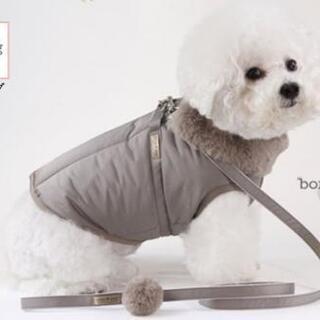 冬オシャレ犬服ハーネス&リード付きパート2