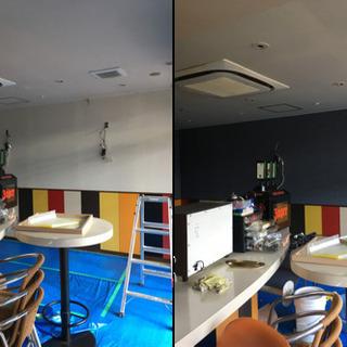 【沖縄内装】久茂地店舗改修工事の画像