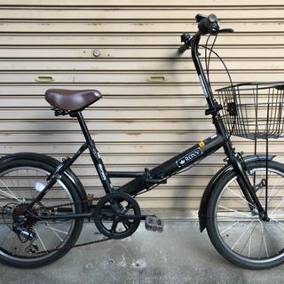マルイシ 折り畳み自転車 ROXY ブラック