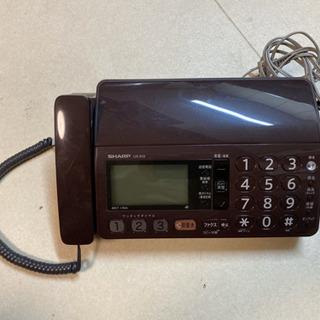 子機なし電話 シャープUX-310