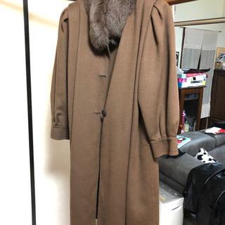 ソレイユ ブルーフォックス 毛皮コート