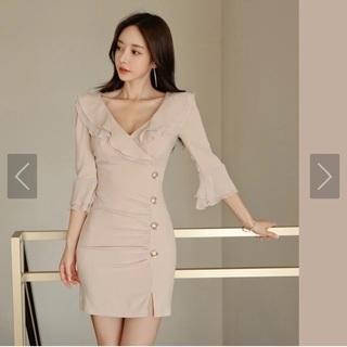 韓国風ドレス・ワンピース Sサイズ