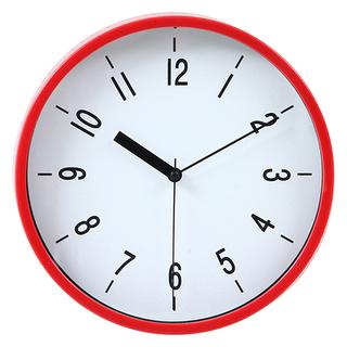 掛け時計 ハリー Φ22cm レッド《未使用 新品》