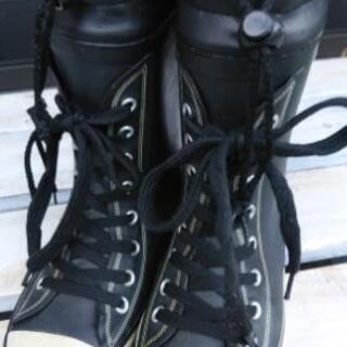 子供用★長靴19㌢★黒