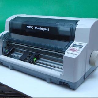 NEC ドットインパクトプリンター MultiImpact700...