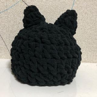 黒猫帽子 45cm ハンドメイド