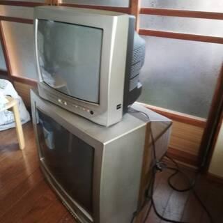 ブラウン管テレビ21型を差し上げます!