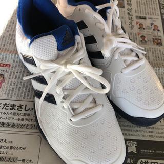 新品 アディダス バリケード club cpt 25.5