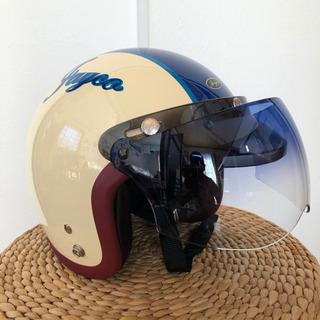 レディース用ショートジェットヘルメット 未使用