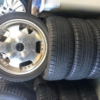 軽用タイヤアルミセット 165/50R15