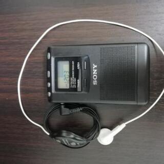 携帯ラジオ①ソニー  ICF -M702V
