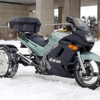 発送可★普通免許 ノーヘルOK ZZR250 トライク! 動画有...
