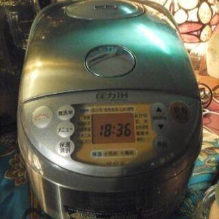 象印☆ZOJIRUSHIの炊飯器(圧力IH)