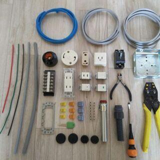 二種電気工事技能試験セット  練習器具・材料+練習教材+解説CD