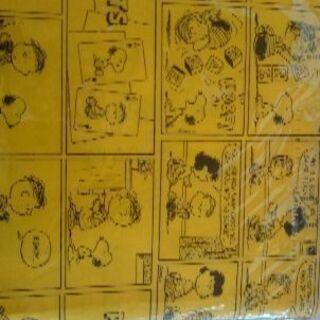 スヌーピーコミック柄スクエアトートバッグ