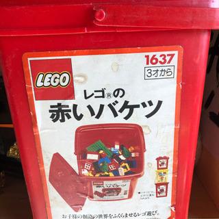 LEGO赤いバケツ 中古0円