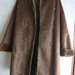 コート GU Mサイズ 茶色