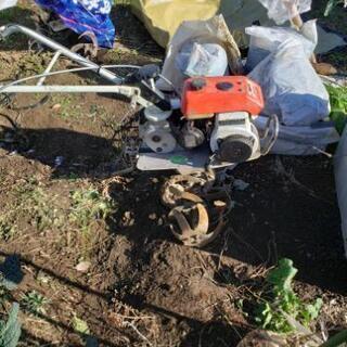 耕運機です。草刈り幾と交換希望します。